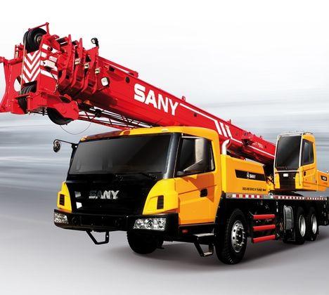 Sany QY25C, guindaste para 25t