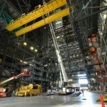 AC-350 Desmontagem de ponte rolante na NASA 02