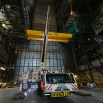 AC-350 Desmontagem de ponte rolante na NASA 03