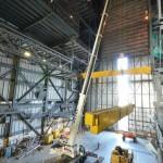 AC-350 Desmontagem de ponte rolante na NASA 04