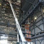 AC-350 Desmontagem de ponte rolante na NASA 05