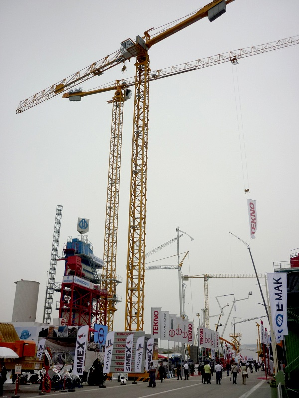 Lançamento Potain da MCT 178 na Komatek