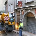 LTC1045-31 Manobrando em Carcassonne vila