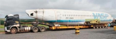 Boeing Apreendido