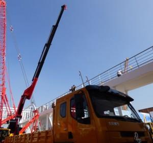 "Sany/Palfinger loader crane, famoso ""munck"""